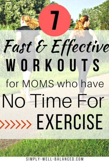 If you are a busy mom looking for a quick and effective workout you definitely will want to pin these awesome 20 minute Tabata workouts. A perfect fitness addition to your morning routine or anytime you want to burn a few calories. #fitness #momgoals #tabata #HIIT