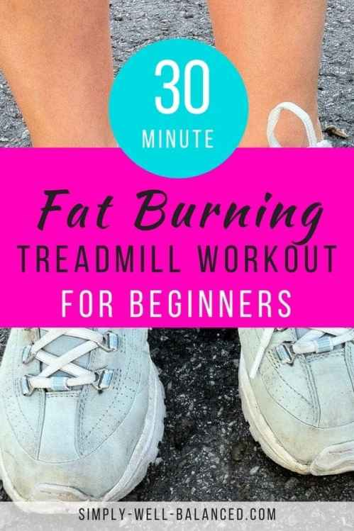 If you want to lose weight and you are just beginning to exercise, walking is an excellent choice. This 30 minute fat burning treadmill workout is perfect to achieve the results you are hoping for. simply-well-balanced.com #loseweight #walkingworkout #treadmill
