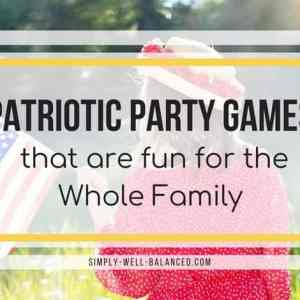Patriotic Party Games that are fun for the Whole Family
