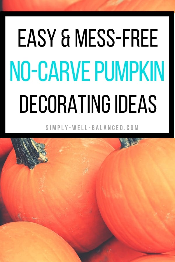 Looking for no carve pumpkin decorating ideas for kids? You will definitley want to check out this post to learn about this perfect mess-free fall craft to do with your kids. Let you kids get creative with Kwik Stix solid paint sticks for kids to decorate your pumpkins with your toddler this year. #pumpkindecor #fallcrafts #kidscraft #ad