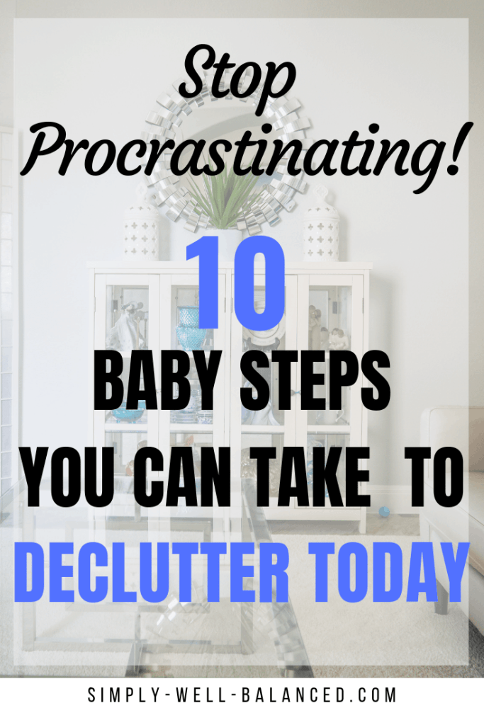 How to declutter your house