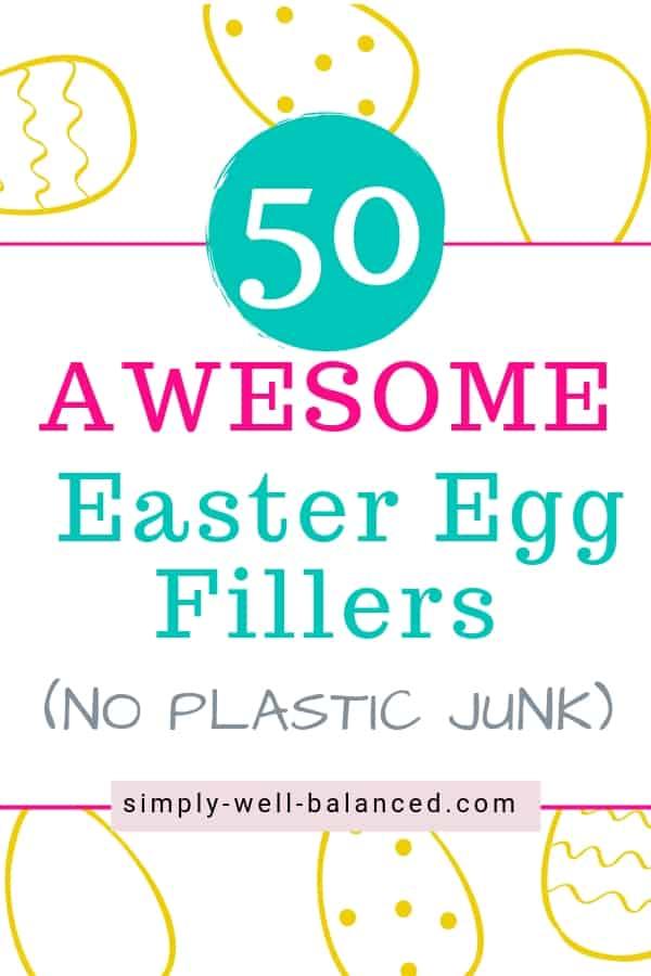 50 Ideas for Easter Egg Fillers