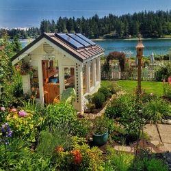 PNW Greenhouse garden