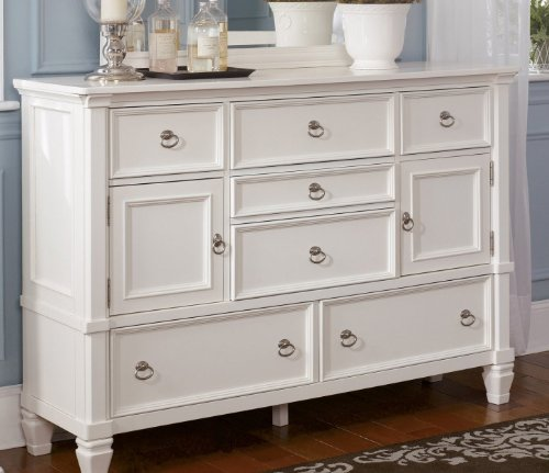 cottage style white prentice bedroom dresser simply accents rh simplyaccents com country cottage white dresser off white cottage dresser