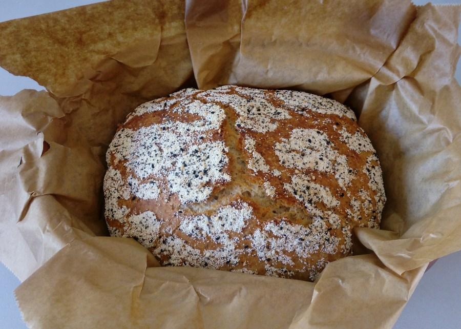 baked bread - simplyanchy.com