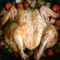 We all need at least ONE GOOD recipe for the roasted chicken, and I believe that this recipe is the one you should go for! This Mediterranean style Roasted Chicken is really easy to prepare, and it can please a crowd! Try this recipe, and tell me what you think...   Healthy Food Recipes   simplyanchy.com