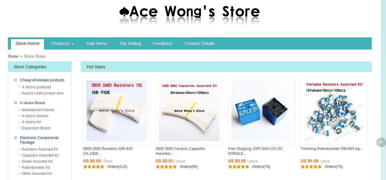 2aa351c4a5412 دليل شراء المكونات اﻹلكترونية من الصين بأقل سعر - آردوينو ببساطة