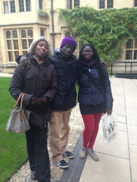 Years later....rents visiting me at Uni :D