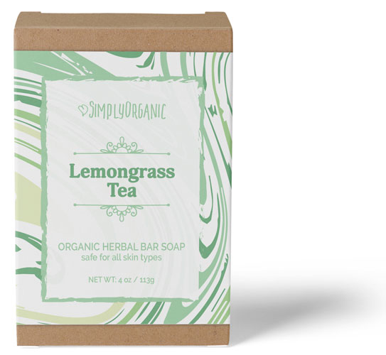 Lemongrass Tea - Scented Organic Bar Soap
