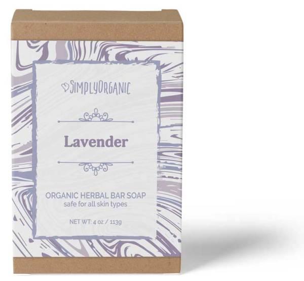 Lavender - Scented Organic Bar Soap