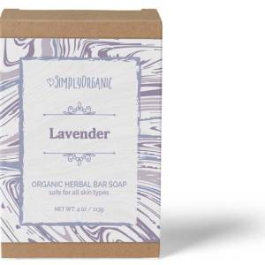Lavender - Scented Organic Bar Soap