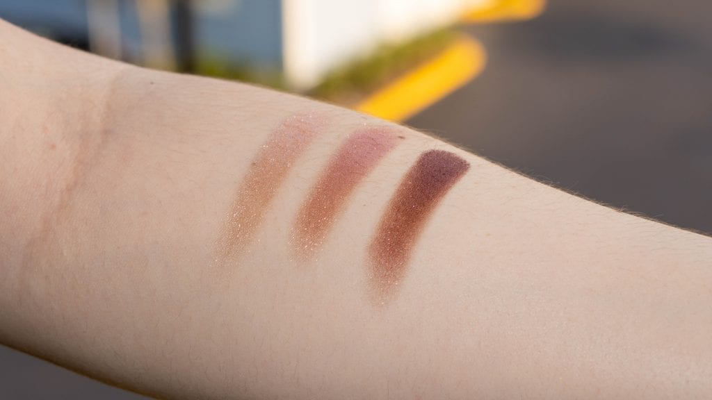 best eyeshadow pallete with shimmer swatch
