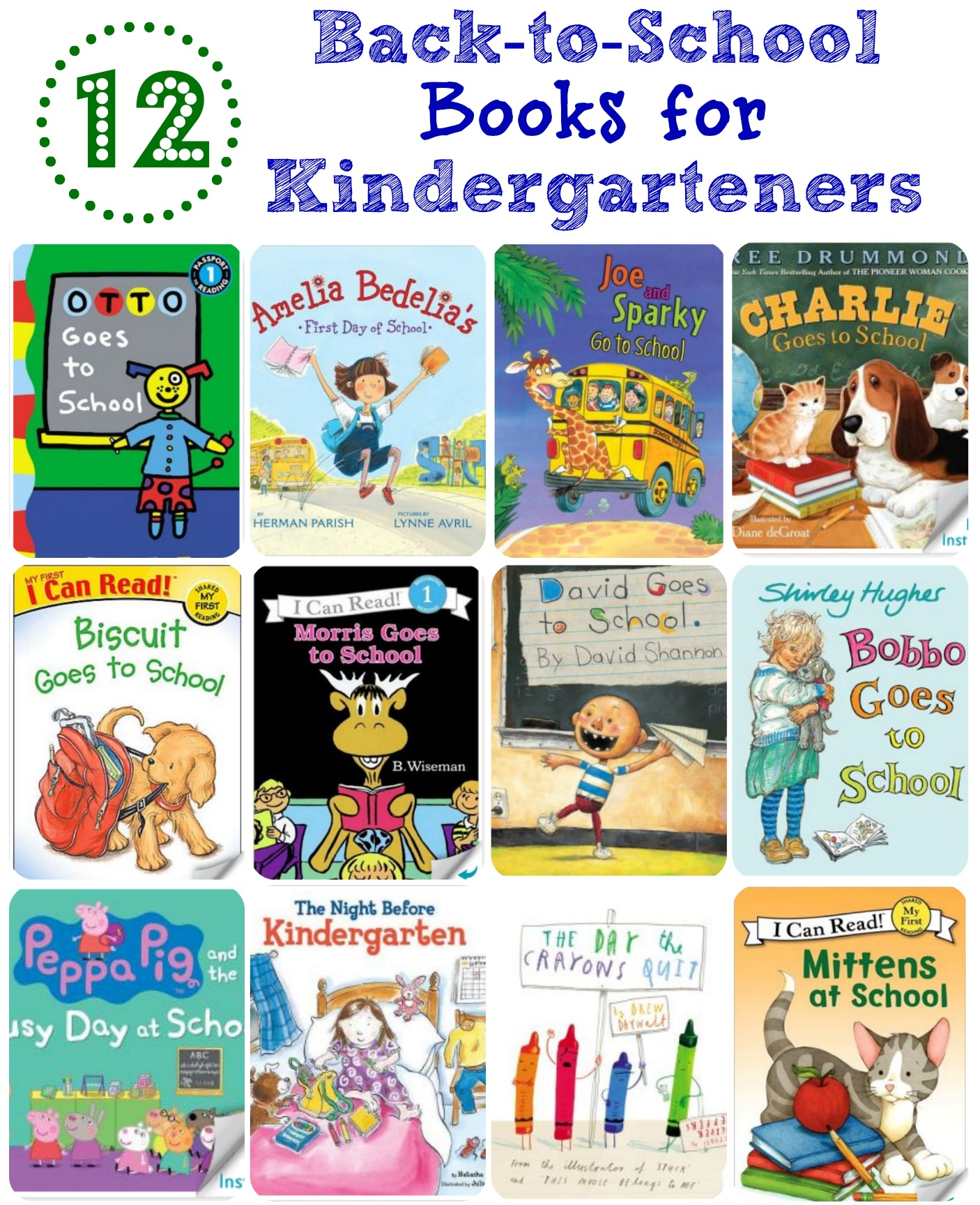12 Back To School Books For Kindergarteners