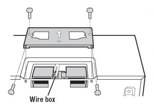 Figure 9 - How to Install an Over-the-Range Microwave Oven