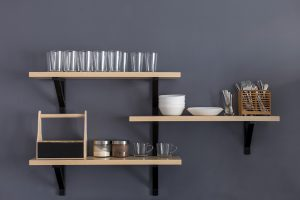 Floating Shelves for Your Kitchen
