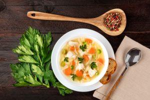 Peppercorn soup