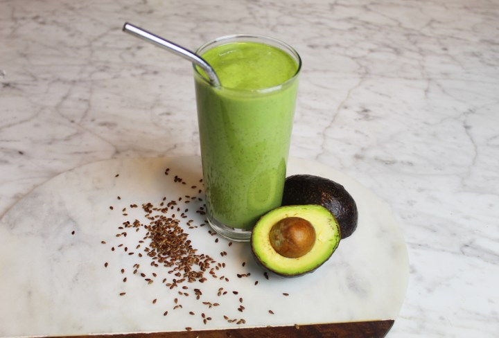 Healthy Spinach Avocado Smoothie Recipe