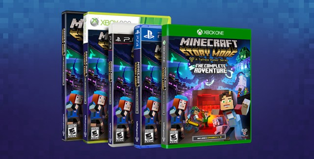 Minecraft Story Mode The Complete Adventure Available At Retail This October Simply Binge