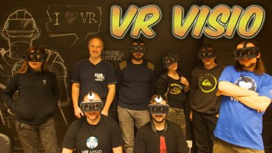Photo of VR VISIO – A MIXED REALITY STUDIO! (Virtual Reality Vlog)