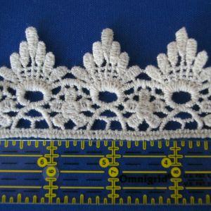 Lace Trim Venice Fringe Ivory