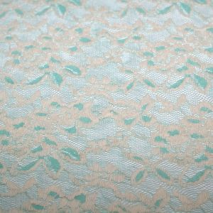 Mint Two Tone Stretch Lace