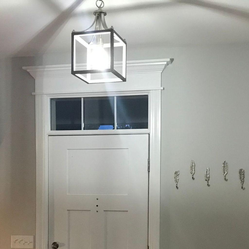 Modern Farmhouse Light Fixture for Entryway