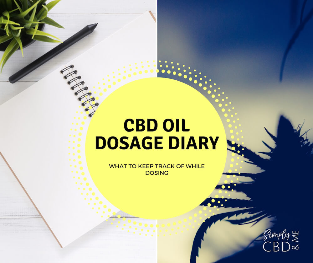 CBD Oil Dosage Diary: What information to keep track of when dosing
