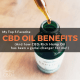 CBD Oil Benefits: My Top 5 Favorite Reasons to use Hemp Oil