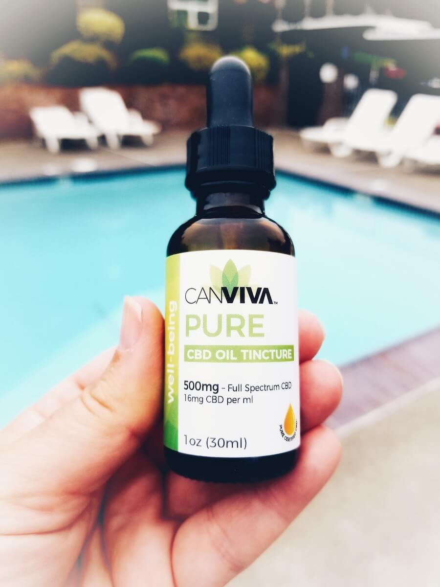 Canviva CBD Oil for pain, stamina, and sleep!