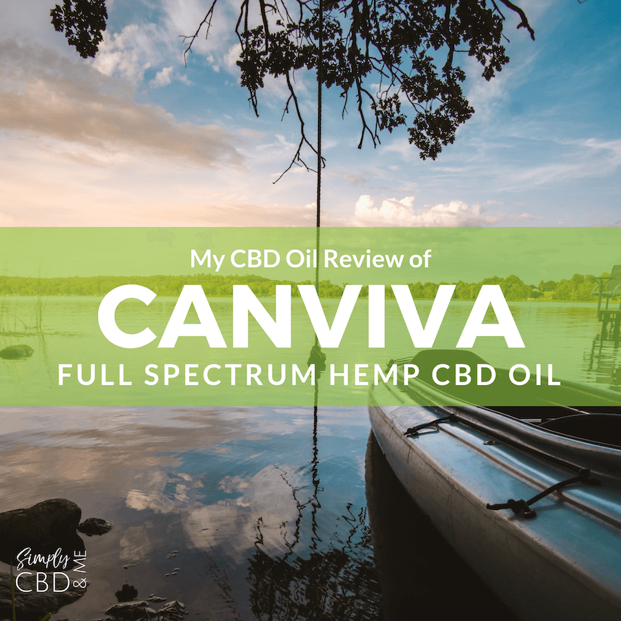 CBD Oil Review of Canviva CBD oil