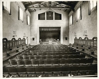 Auditorium of Balch Hall Scripps College - T.S. Eliot in Love and Los Angeles: A Photo Essay