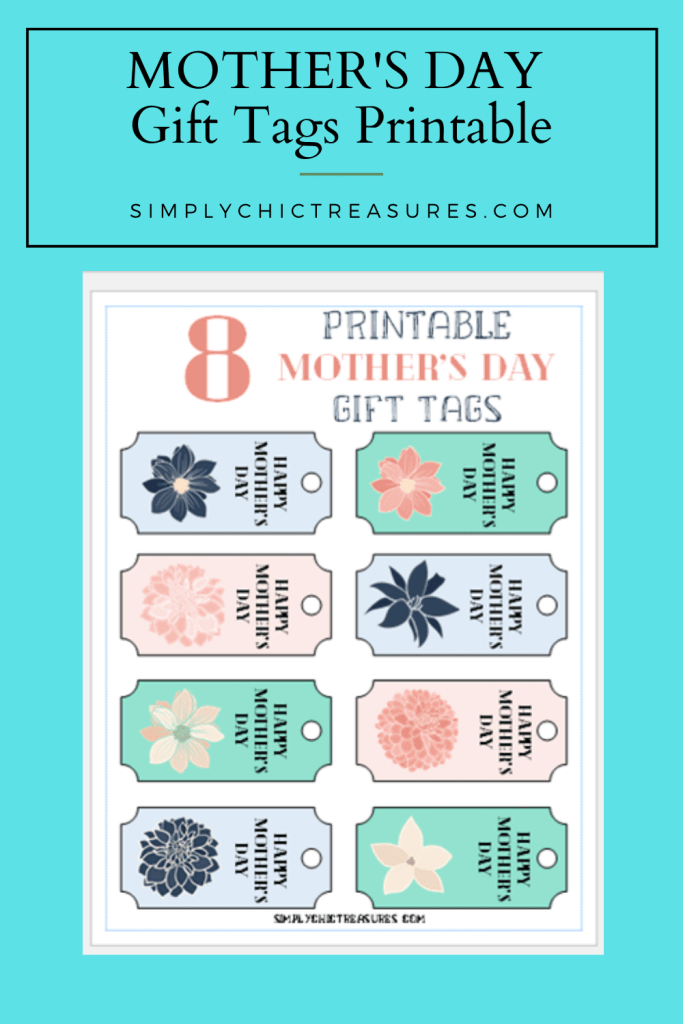printable gift tags for mother's day