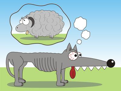 Wolf fodder