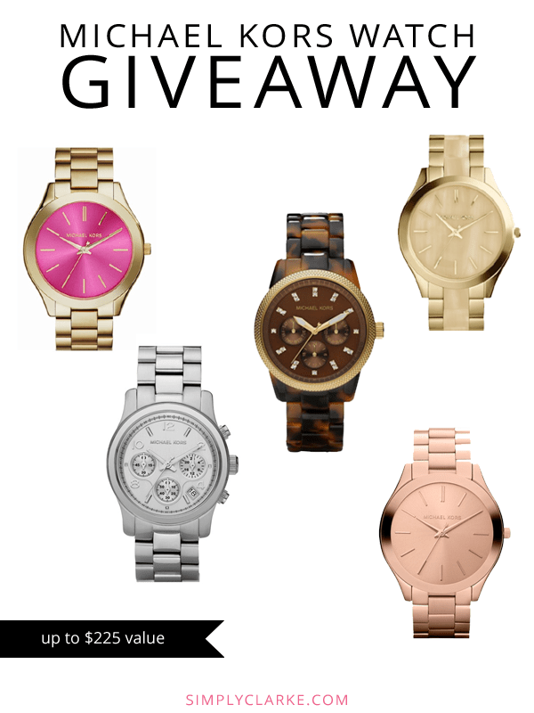 Michael Kors Watch Giveaway copy