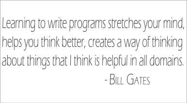 learn coding by bill gates