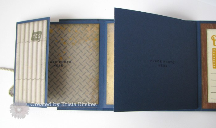 nov sotm mini album by Krista Ritskes, insic