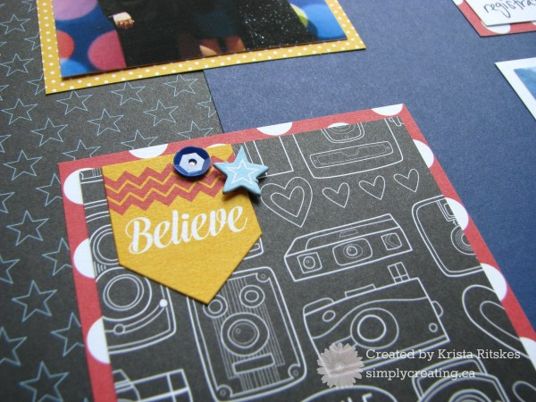 Magical Convention layout close up Believe by Krista Ritskes #simplycreating