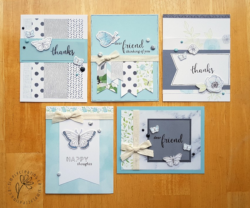 Chelseal Gardens cards by Krista Ritskes #simplycreating