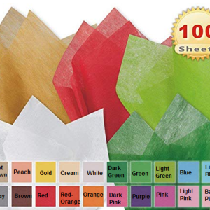 Colors of tissue paper offered