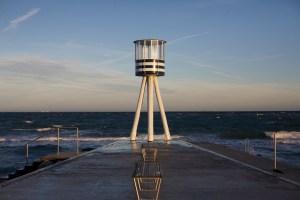 Bellevue beach - Arne Jacobsen Watchtower