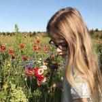 Selinevej flower field Copenhagen