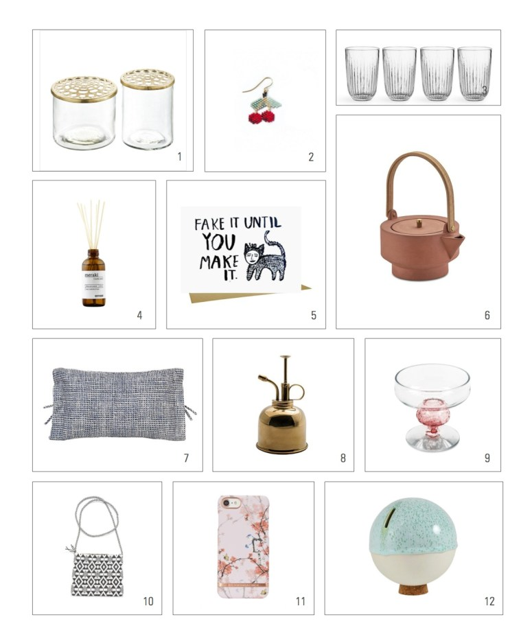 Shopping list to make your day