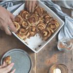 Sticky cinnamon buns