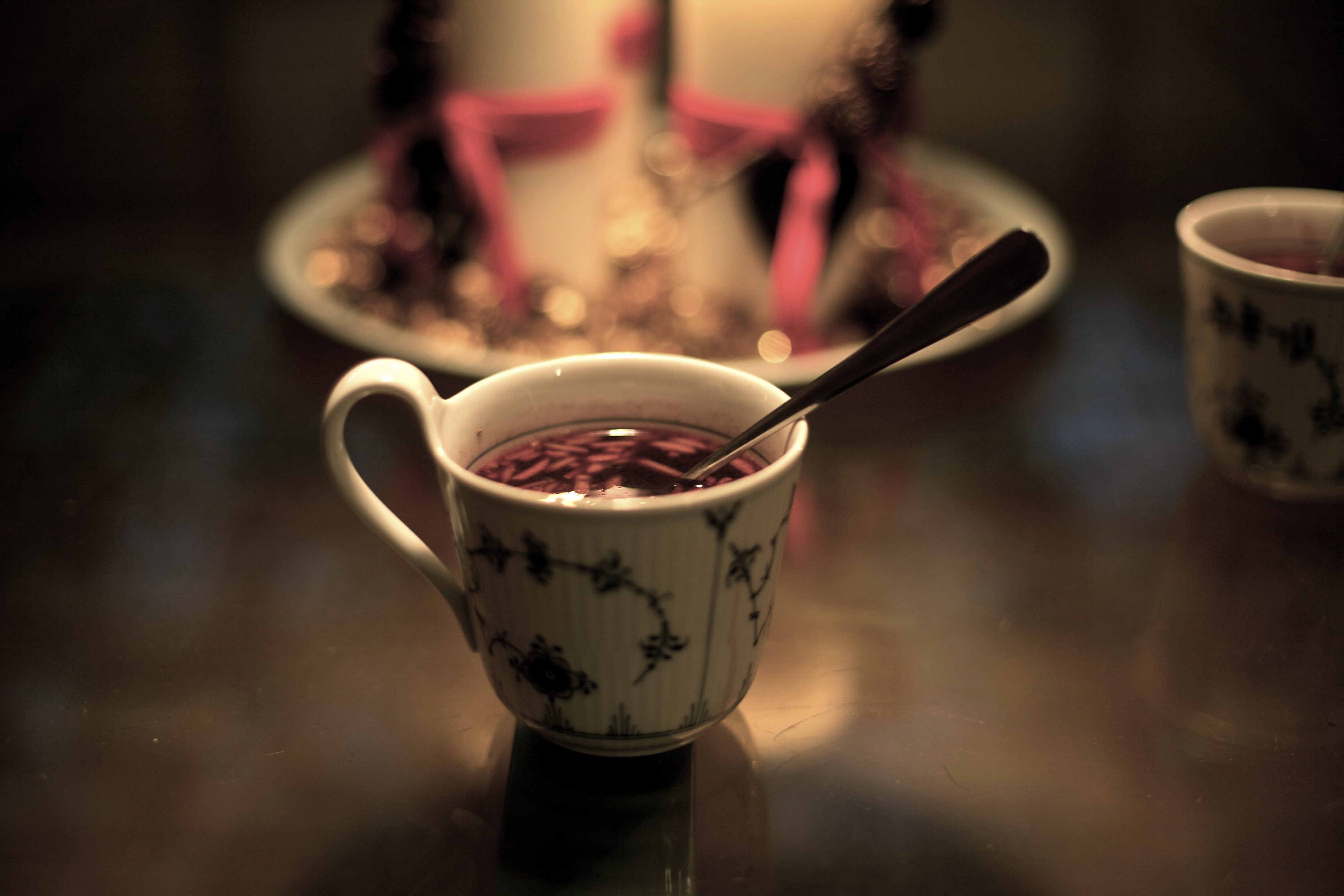Gløgg is a spicy mulled wine with origins from the German