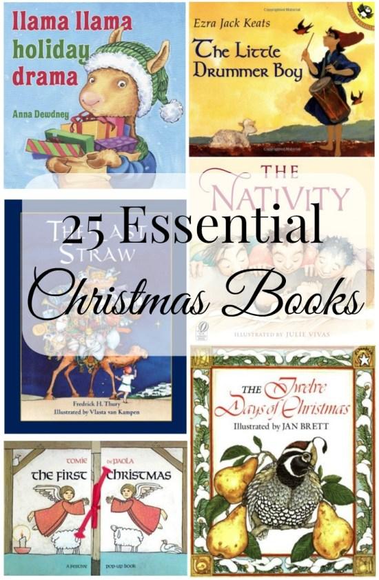 25 Essential Christmas Books