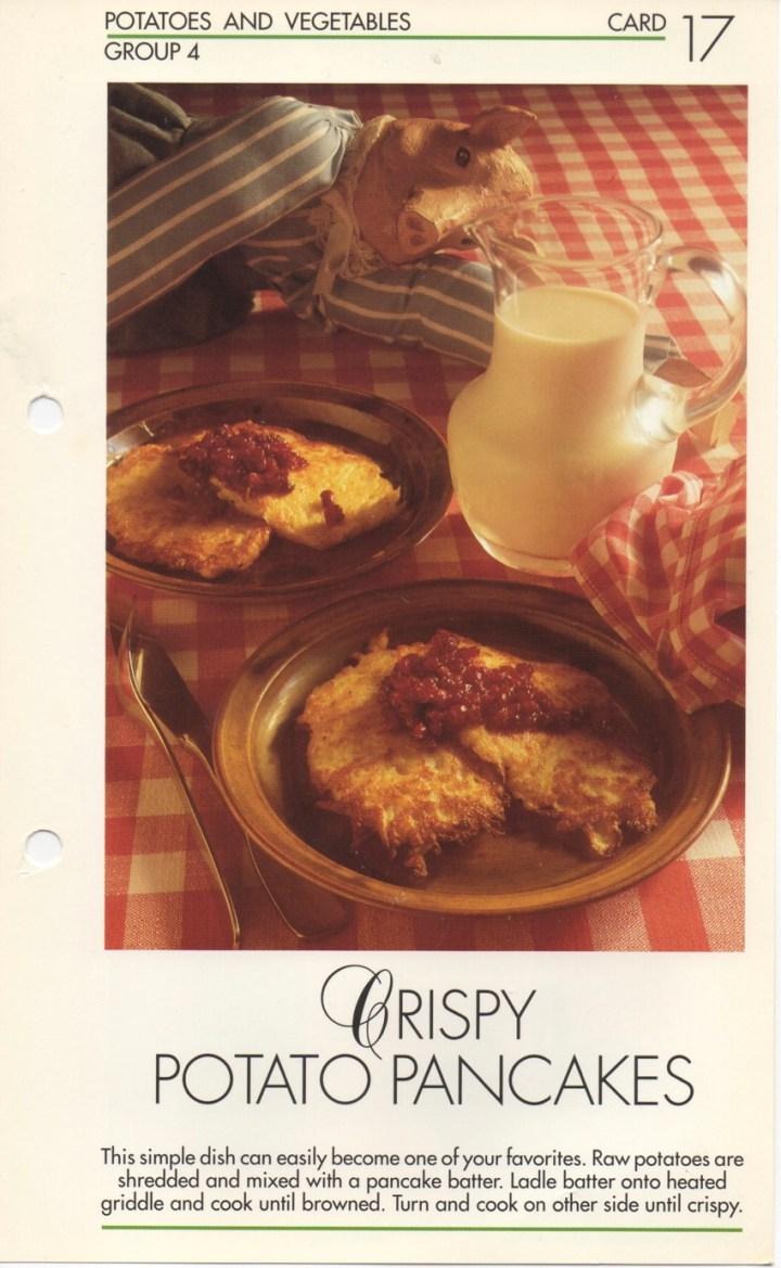 4-17 Crispy Potato Pancakes