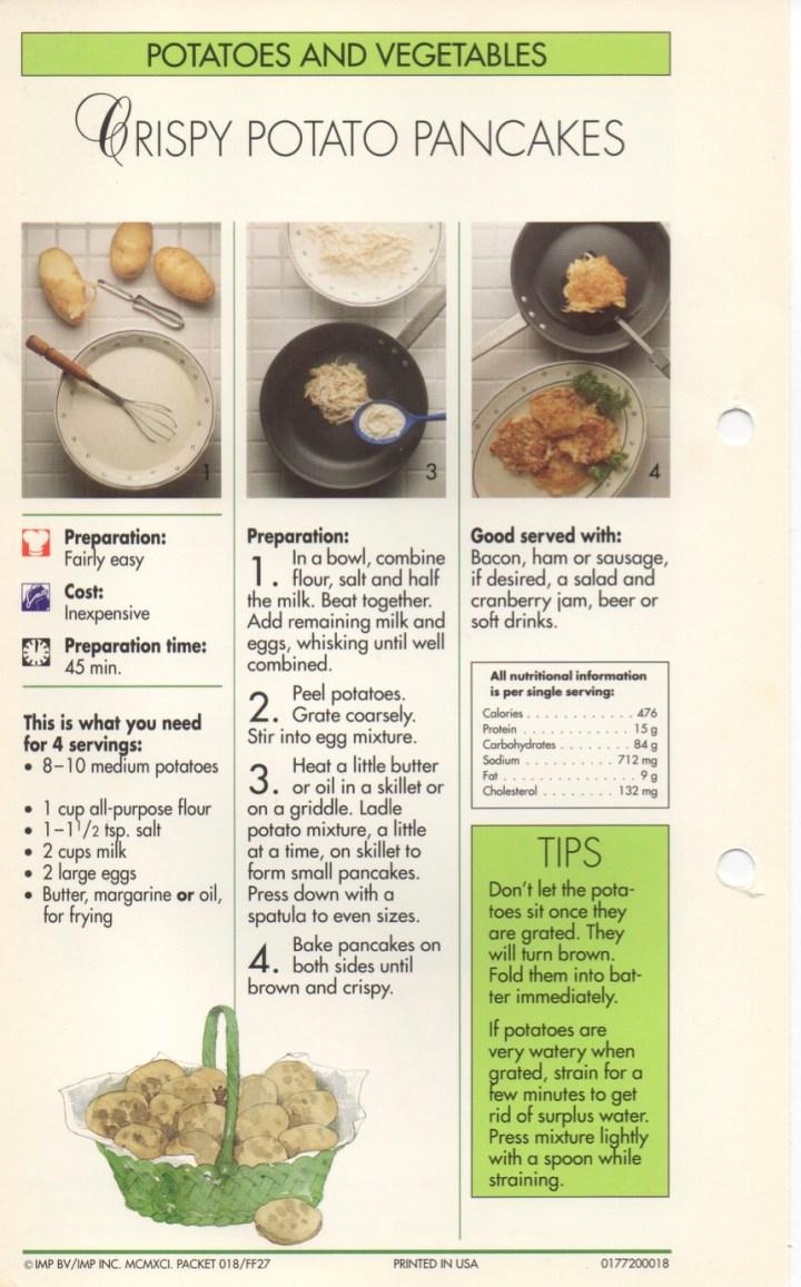 4-17 Crispy Potato Pancakes1