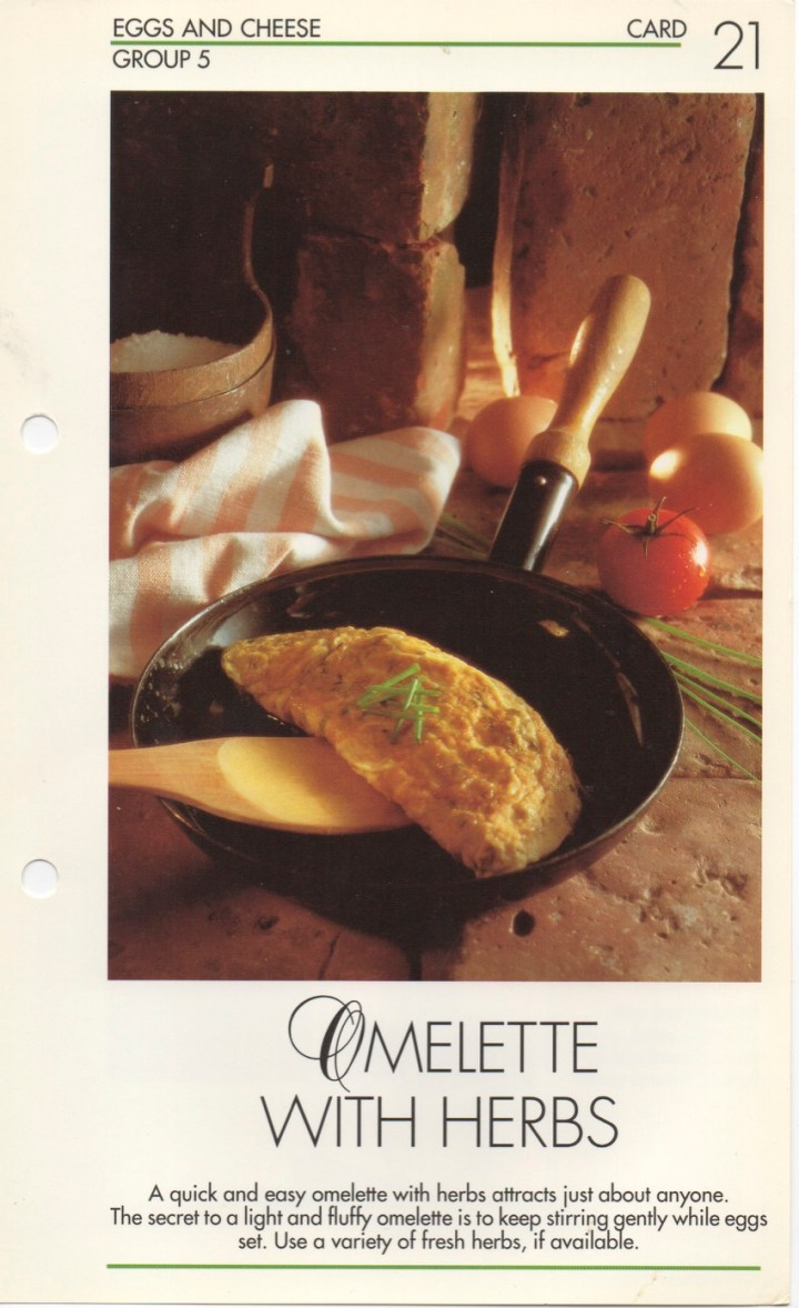 5-21 Omelette with Herbs