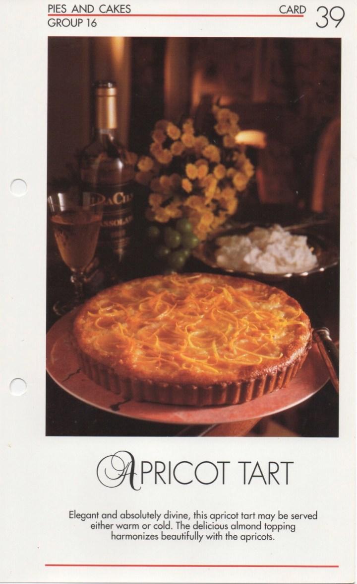 16-39 Apricot Tart