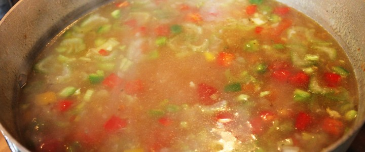 3-9: Mexican Chicken Soup